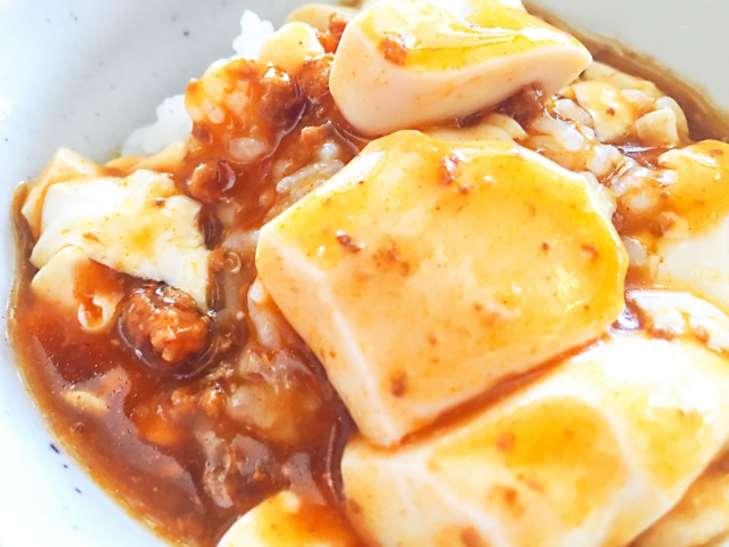 りゅうじさんの豆腐丼