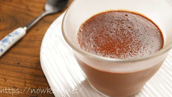 【ノンストップ】チョコムースのレシピ。マシュマロで簡単!バレンタインにおすすめ簡単チョコ スイーツ 2月10日