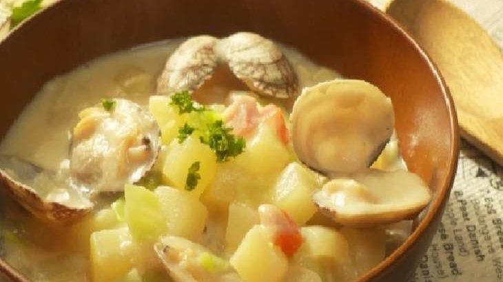 【ジョブチューン】クラムチャウダー風ラーメンの作り方・レシピ。銀座八五店主のインスタント麺アレンジバトル(7月11日)