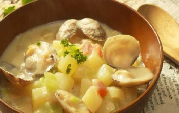 ジョブチューンクラムチャウダー風ラーメンレシピ
