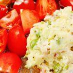【男子ごはん】トマトの野菜タルタルソースの作り方。旬の夏野菜レシピ(7月19日)