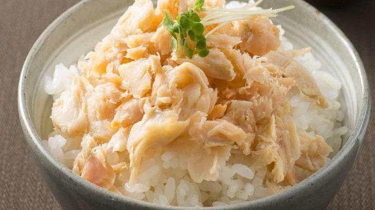 【王様のブランチ】鮭フレークde丼の作り方。西山茉希さんの5分で作れる簡単丼レシピ(7月25日)
