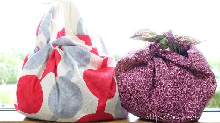 【スッキリ】風呂敷がエコバッグの代わりに変身!結び方と使い方を紹介。買い物袋代わりのアレンジ活用法(8月4日)