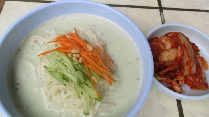 【王様のブランチ】白だし豆乳の韓国風そうめんの作り方。ヤミーさんのカルディそうめんアレンジレシピ(7月18日)