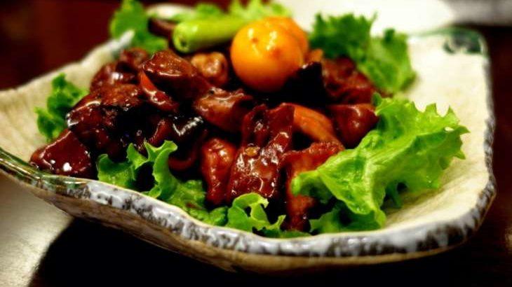 【男子ごはん】甲府鳥もつ煮の作り方。山梨県のご当地グルメのレシピ(7月26日)