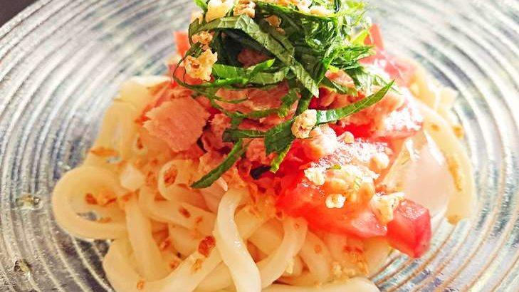 【あさイチ】トマトドレッシングで温玉うどんの作り方。近藤幸子さんの簡単トマドレ活用レシピ8月20日