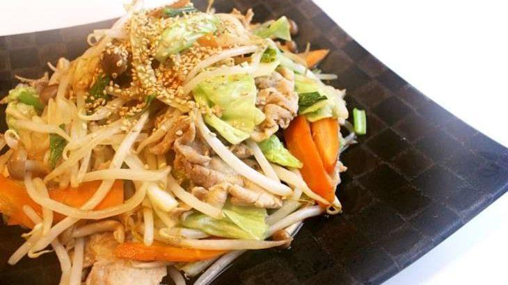 【あさイチ】重ね蒸しでシャキシャキ肉野菜炒めの作り方。料理芸人クック井上さんのレシピ(7月13日)