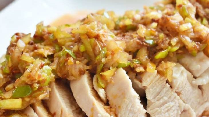 【ヒルナンデス】パクチーと鶏ささみのピリ辛中華風あえうどんの作り方。コウケンテツさんのレシピ(8月3日)