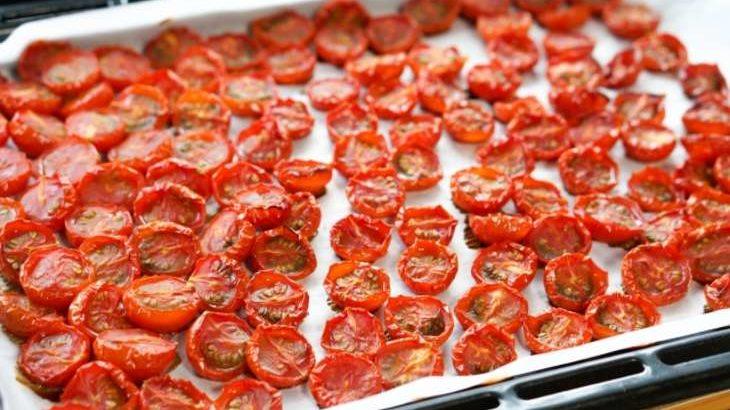 【男子ごはん】自家製セミドライトマトの作り方。ミニトマトで作るドライトマトのレシピ。夏にぴったりイタリアン(8月2日)