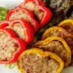 【男子ごはん】パプリカの肉詰めの作り方。夏にぴったりイタリアンのレシピ(8月2日)