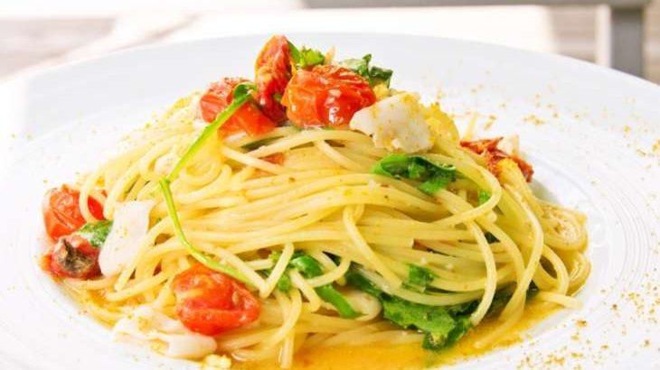 【男子ごはん】セミドライトマトのアーリオオーリオの作り方。ドライトマトのペペロンチーノ風パスタ。夏にぴったりイタリアンのレシピ(8月2日)