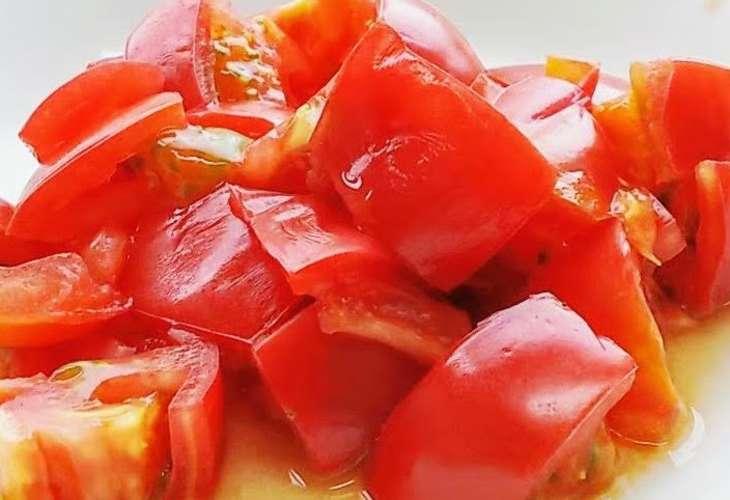 ごごなまトマトの白和え
