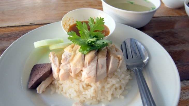 【家事ヤロウ】カオマンガイの作り方。炊飯器でタイ風チキンライスのレシピ。超簡単!本格エスニック料理 9月2日