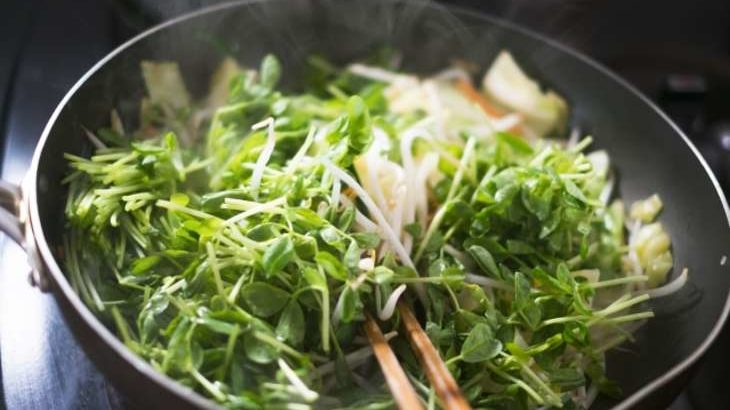 【あさイチ】豆苗ときゅうりのメンマ炒めの作り方。今井亮さんのレシピ 9月2日【朝イチ ゴハンだよ】