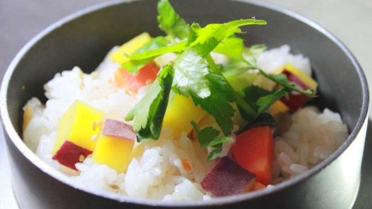 【ノンストップ】さつまいもの混ぜご飯の作り方。坂本昌行さんのレシピ 9月18日
