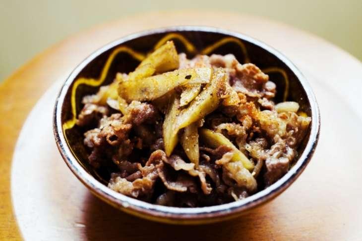 あさいち牛肉とごぼうの甘辛煮