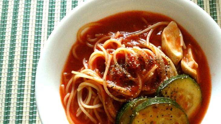 【土曜は何する】トマトの冷製パスタの作り方。サバ缶で簡単!パスタ世界チャンピオン弓削シェフのレシピ 9月26日