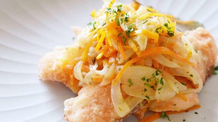 【男子ごはん】鮭の南蛮漬け&冷やし中華の作り方。栗原心平さんの作り置きおかずレシピ 9月13日