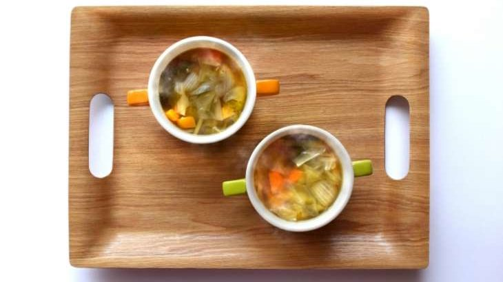 【土曜は何する】魔法のスープ鮭とパプリカのスパイシースープの作り方。Atsushi(あつし)さんのレシピ 9月11日