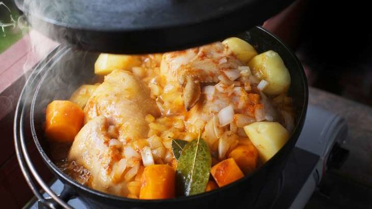 【ヒルナンデス】柚子香るローストポークのレシピ。ダッチオーブンで本格キャンプ料理の作り方。シェリーさんが挑戦! 10月30日
