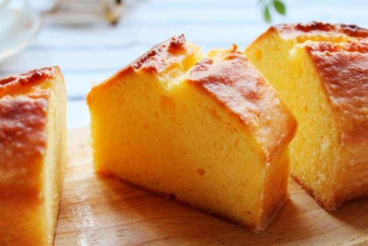 キャラメルりんごのパウンドケーキのレシピ