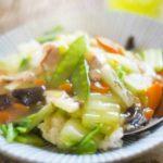 【スッキリ】なめたけ中華丼の作り方。10分で簡単!ミシュラン鳥羽シェフの簡単どんぶりレシピ 10月2日