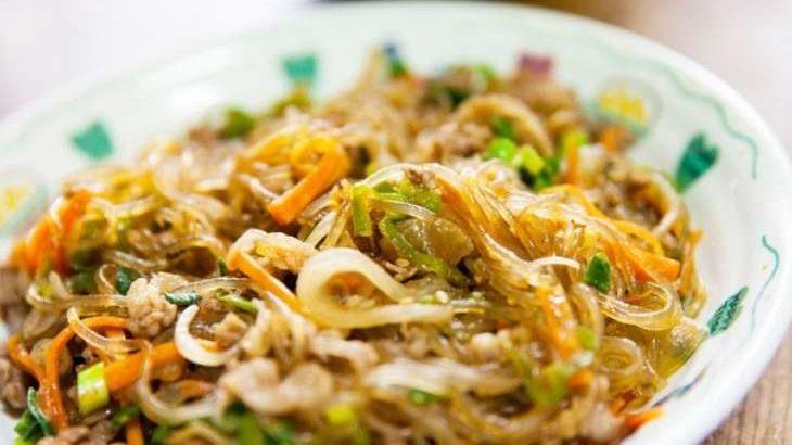 【家事ヤロウ】チャプチェのレシピ。山本ゆりさんのレンチン肉料理 2月10日