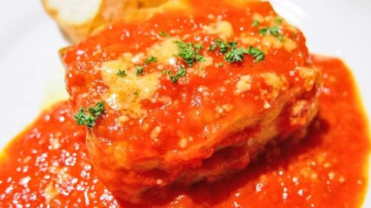 【ノンストップ】ワンパンで白菜と豚バラのラザニア風のレシピ。餃子の皮で簡単!10月7日