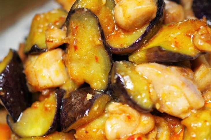 あさイチ塩サバと茄子のさっぱり炒め