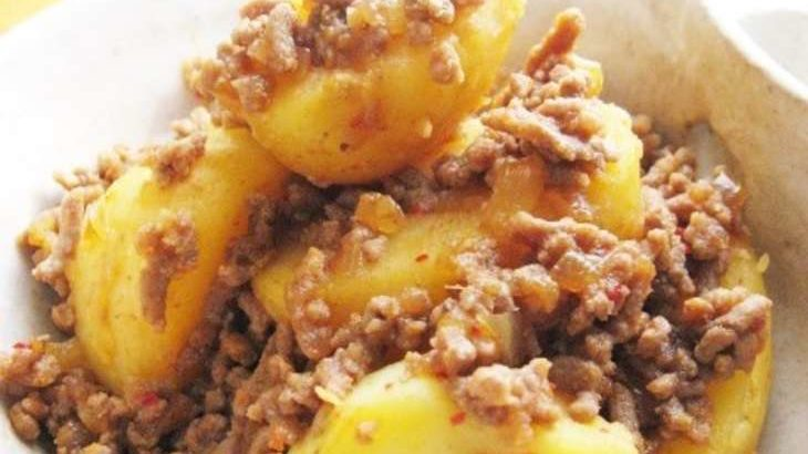 【ノンストップ】里芋と長芋のピリ辛肉みそ炒めのレシピ。クラシルで話題のサトイモ料理10月21日
