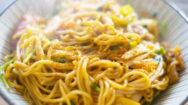 【家事ヤロウ】台湾風焼きそばのレシピ。リュウジさんのやきそばアレンジの作り方 10月21日