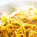 【男子ごはん】塩焼きそばのレシピ。土曜日お昼の定番メニュー(4月25日)