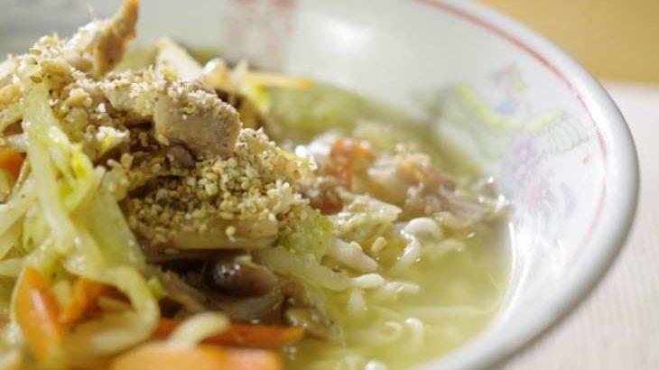 【ジョブチューン】野菜がっつりつけ麺のレシピ。中華蕎麦とみ田直伝!インスタント麺アレンジバトル 11月21日