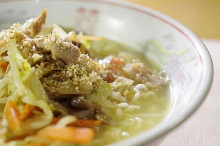 ジョブチューン野菜がっつりつけ麺