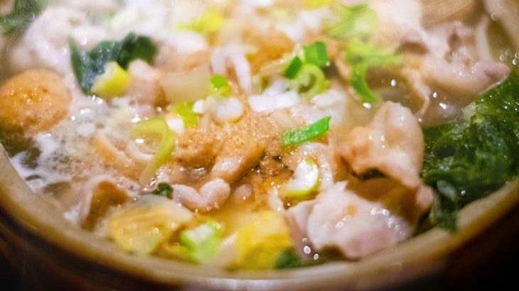 【世界一受けたい授業】黒ごま担々鍋納豆添えのレシピ。低カロリー鍋ランキング 12月12日