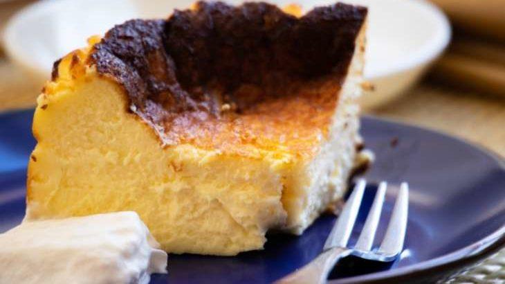 【ZIP】バスク風チーズケーキのレシピ。材料3つの簡単スイーツ(4月27日)