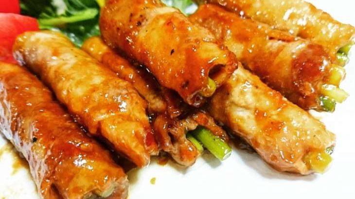 【ノンストップ】菜の花とニンニクの芽の肉巻きのレシピ。クラシルで話題の菜の花料理(3月17日)