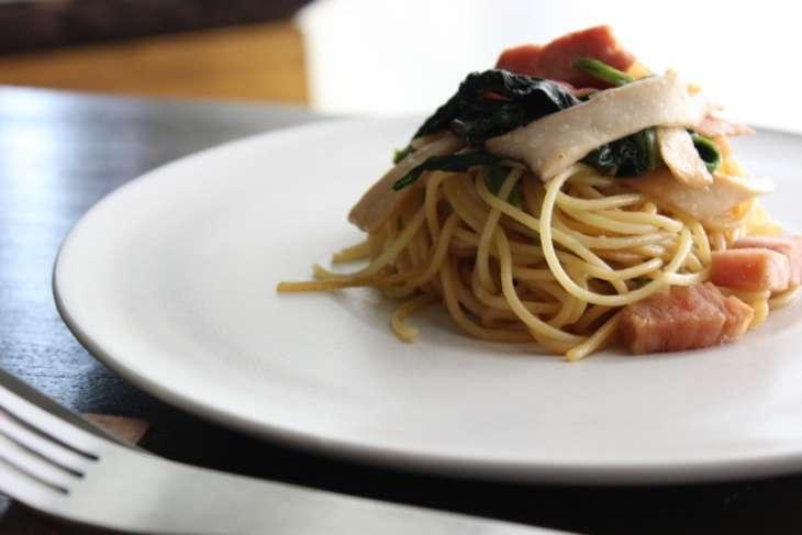 リュウジ海苔の佃煮パスタ
