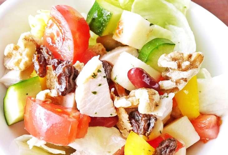 ごごなまかぶとカマンベールチーズのサラダ