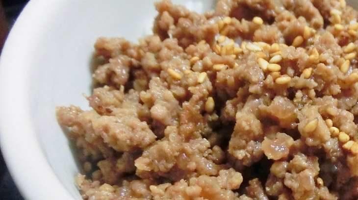 【家事ヤロウ】塩バター肉そぼろ飯のレシピ。噂の背徳グルメの作り方。 11月11日