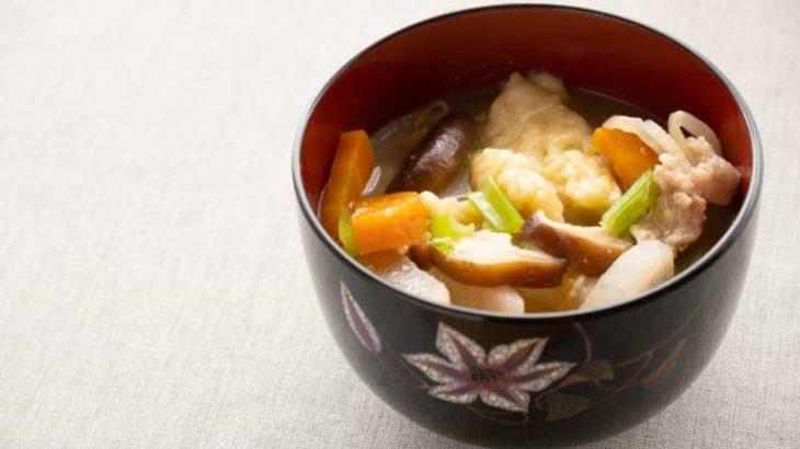 【平野レミの早わざレシピ】里芋のもちもち団子汁の作り方(9月23日)