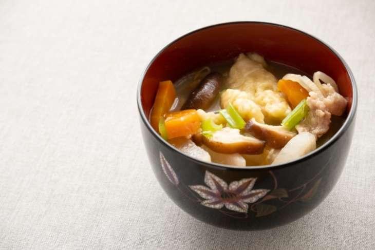 平野レミ里芋のもちもち団子汁