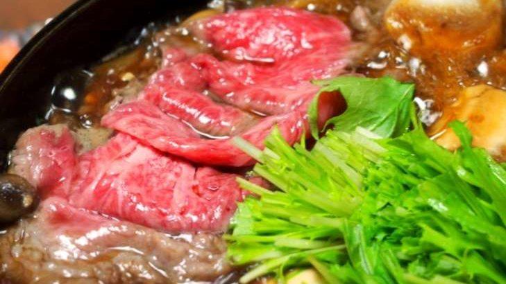 【もしもツアーズ】極上すき焼きのお取り寄せ情報まとめ。牛肉記念日に食べたい名店の味! 1月23日