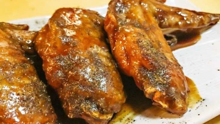 【ノンストップ】名古屋風鶏手羽のレシピ。坂本昌行さんの簡単手羽先料理の作り方 11月13日