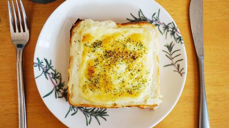 【土曜は何する!?】焼きポテトサラダトーストのレシピ。山口繭子先生の食パン簡単アレンジ!(3月6日)