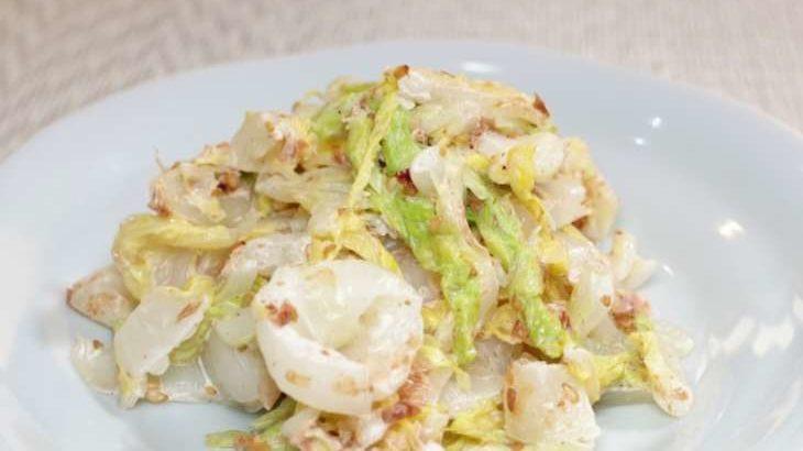【ソレダメ】白菜のちぎり和えのレシピ。和田明日香さんの爆速白菜サラダの作り方。絶品手抜き料理 12月16日