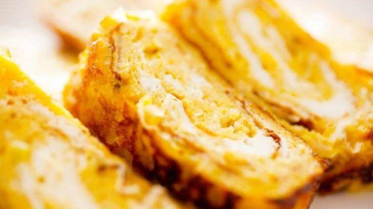 【家事ヤロウ】だし巻きオムライスのレシピ。グランメゾンキングの混ぜご飯入り卵焼き 12月9日