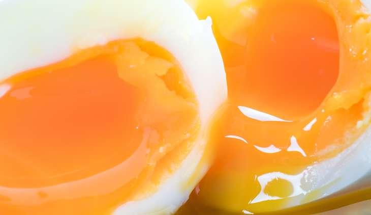 家事ヤロウ半熟卵のベーコン巻き