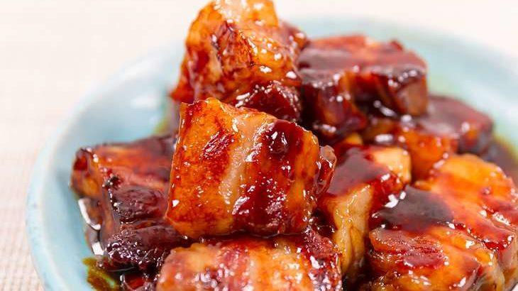 【ホンマでっかTV】豚の角煮のレシピ。ほうじ茶&レンジで時短!五十嵐ゆかりさん(4月14日)