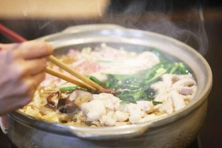 ノンストップたっぷり葉野菜と鶏肉のふわふわ鍋